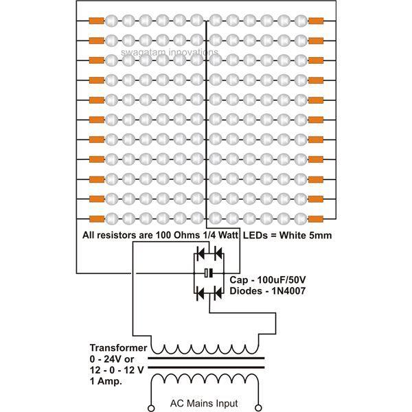 Como medir la tensi243n de un led Inventable cir