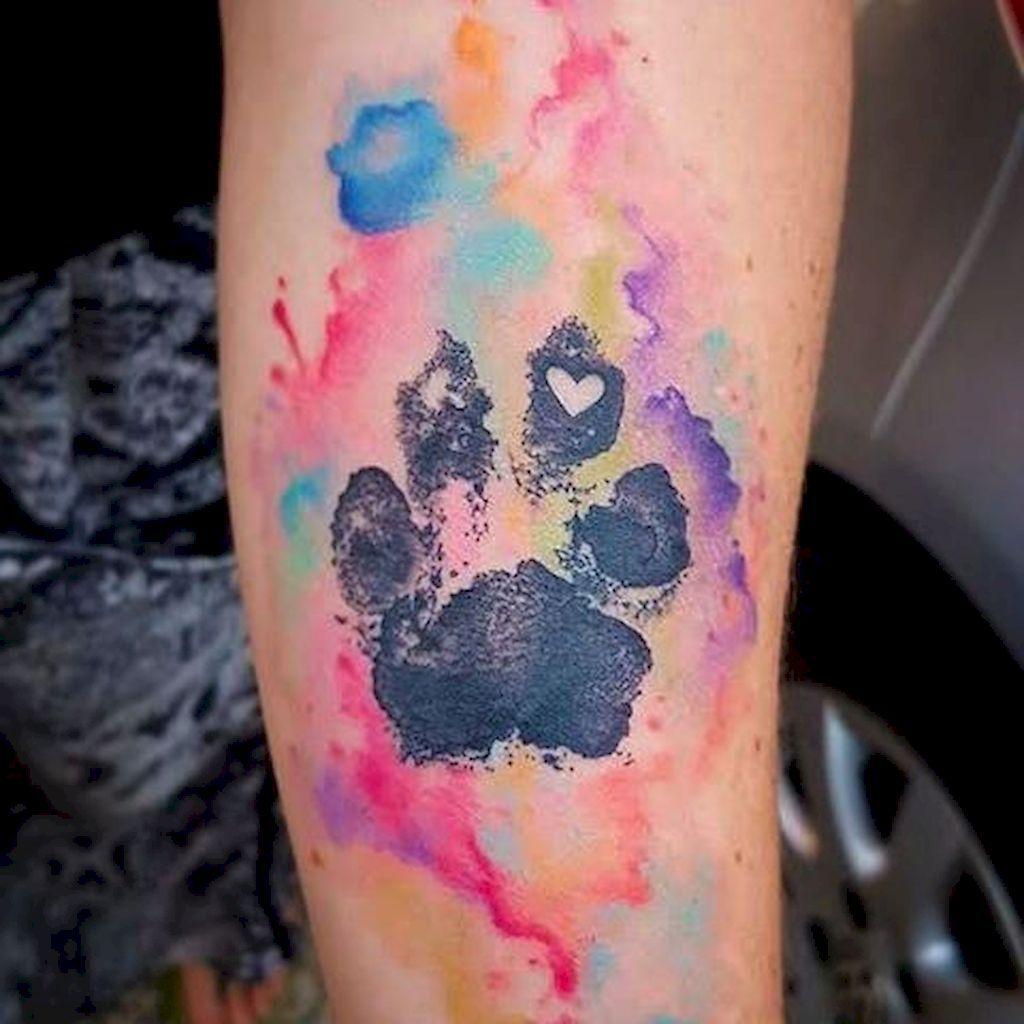 42 Cute Paw Print Tattoo Designs Ideas You Must Love Pawprint