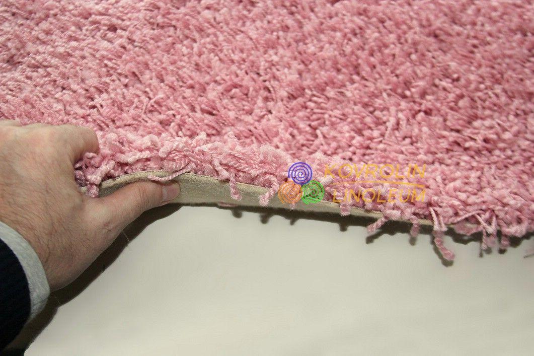 Ковролин Valentino 110 розовый - Ковролин с длинным ворсом