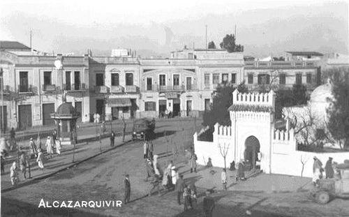 Alcazarquivir ksar kebir1131 -santuario sidi buhamed, el paseo hacia la izquierda | Flickr: Intercambio de fotos