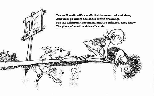 """Friends Quotes From Shel Silverstein: Excerpt From """"Where The Sidewalk Ends"""" By Shel Silverstien"""