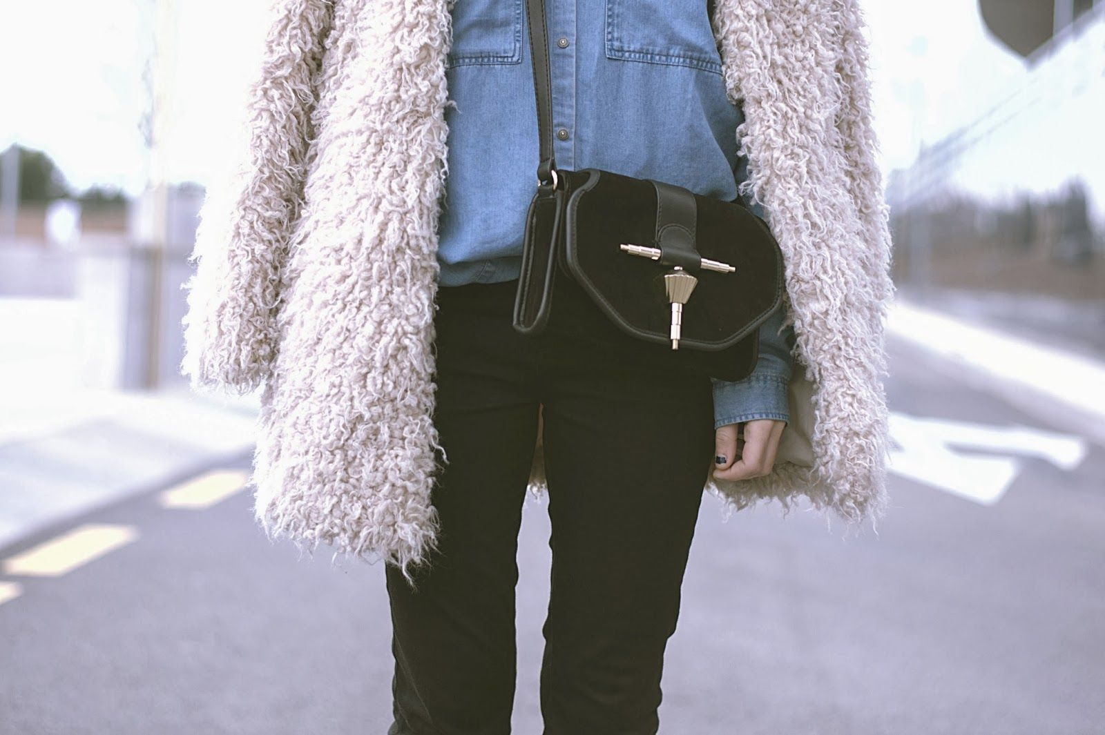 Jeans Zara - AW 13-14 Camisa/Shirt Zara - Old Abrigo/Coat Zara - Old Bolso/Bag Zara - AW 13-14