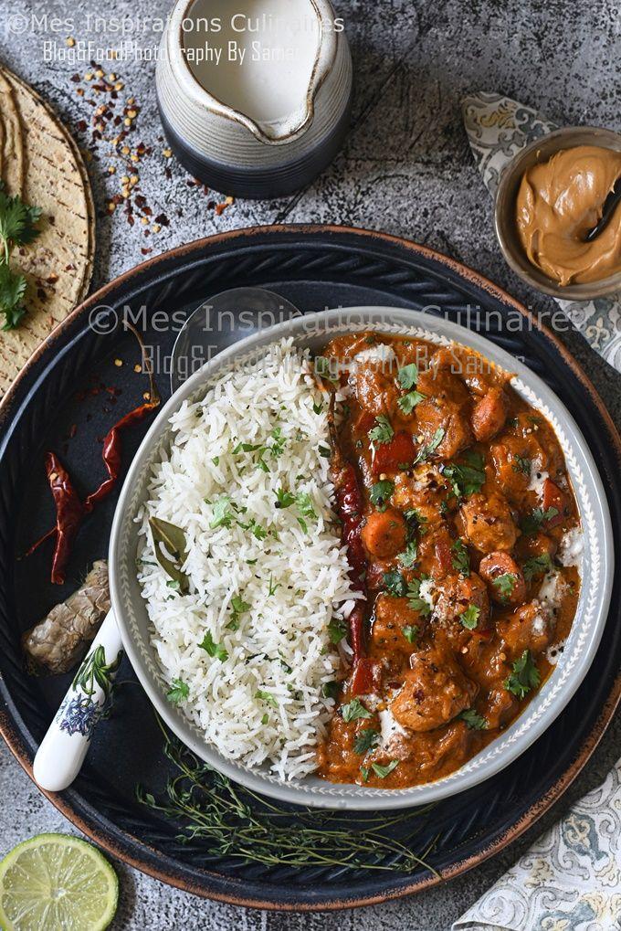 Recette Mafé au poulet sénégalais | Le Blog cuisine de Samar