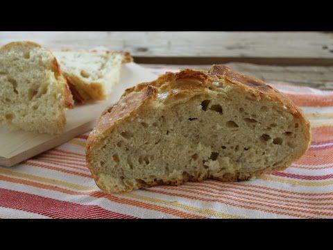 oggi prepariamo insieme il pane senza impasto, un modo facilissimo