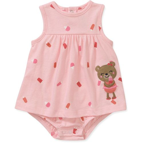 Walmart Baby Girl Clothes Endearing Child Of Minecarters Newborn Girl Printed Sunsuit Baby Clothing Design Inspiration