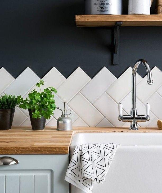 Piastrelle dietro al lavandino della cucina #architecture ...