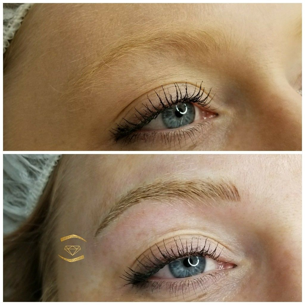 Microblading Blonde Brows The Lash Ceo Eyelash Extensions