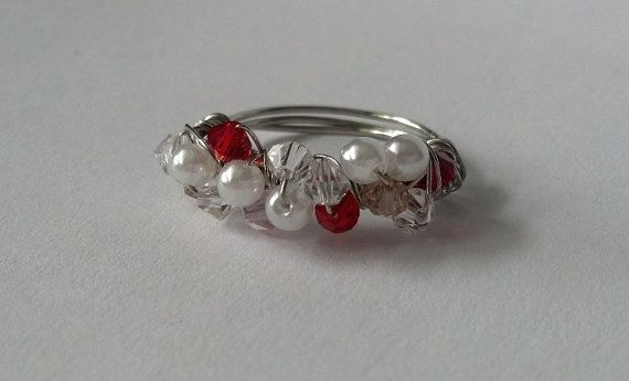 $12.50 Just Lovely - Cluster Ring