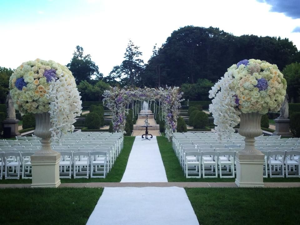 The Ceremony Entrance At Oheka Castle A Place To Have My Wedding