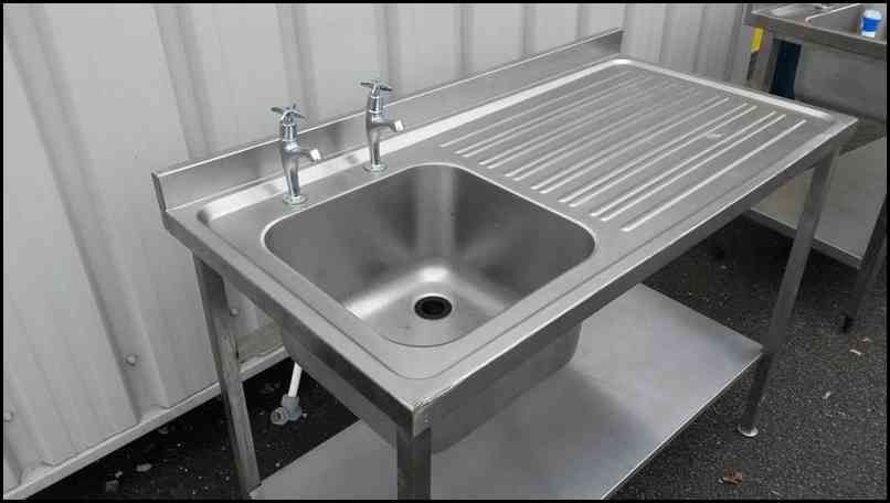 Stainless Steel Utility Sink Freestanding With Images Kitchen