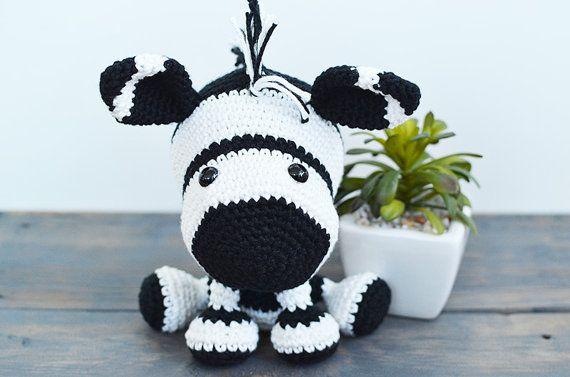Zelda the Zebra – Amigurumi Crochet Pattern | | 377x570