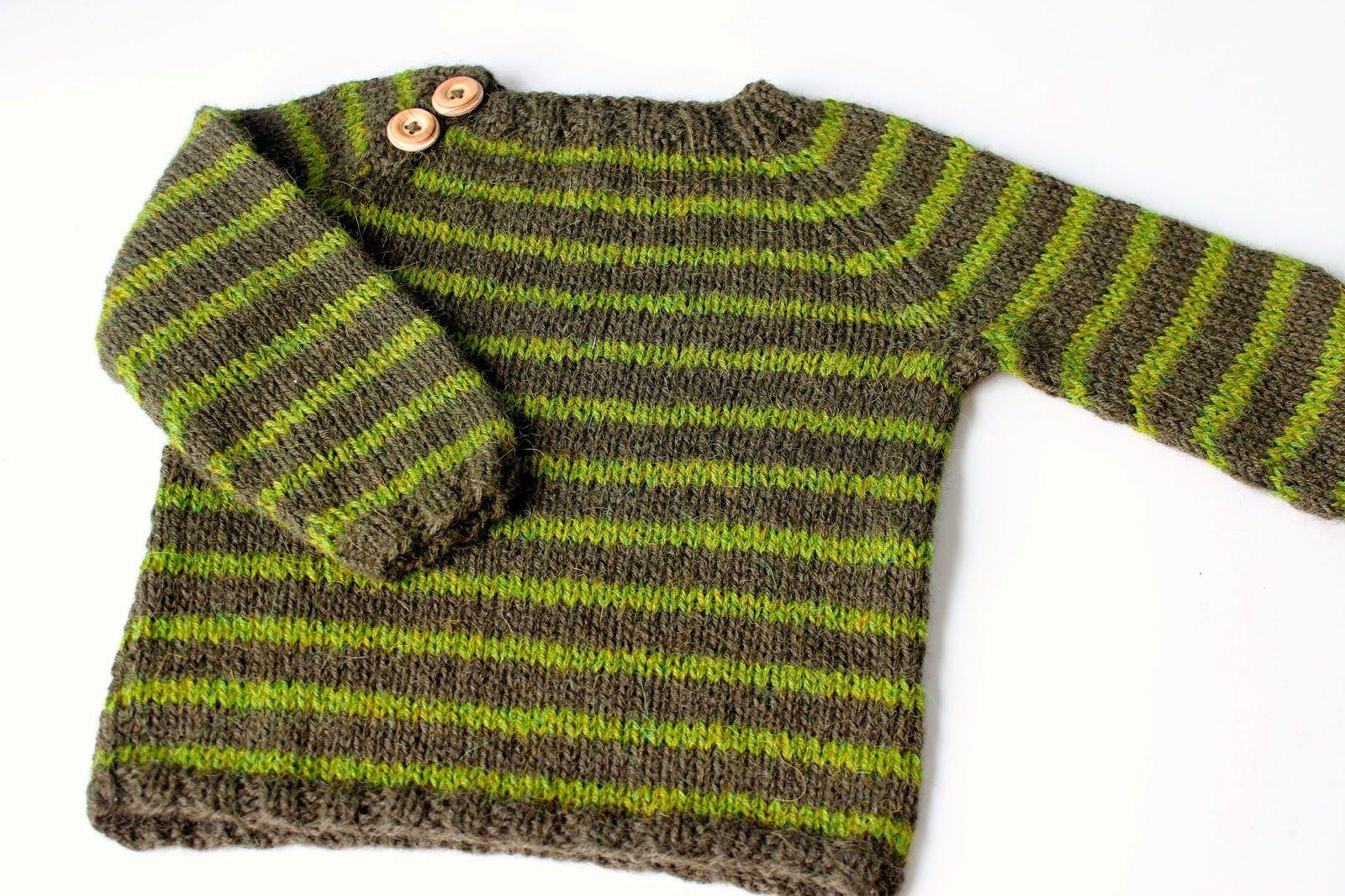 Striber Til Emil Lækker Børnestrik Gnarled Tree Fashion
