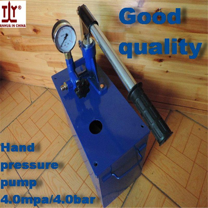 Free Shipping Plumber Tools Manual Pressure Test Pump Hydraulic Pump 4mpa 4bar Water Pressure Hot Sale In China Testing Plumber Pressure Pump Water Pumps