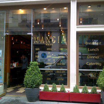Mangia Organics - www.mangiaorganics.com - Organic cafe. The first USDA organic restaurant in NYC.