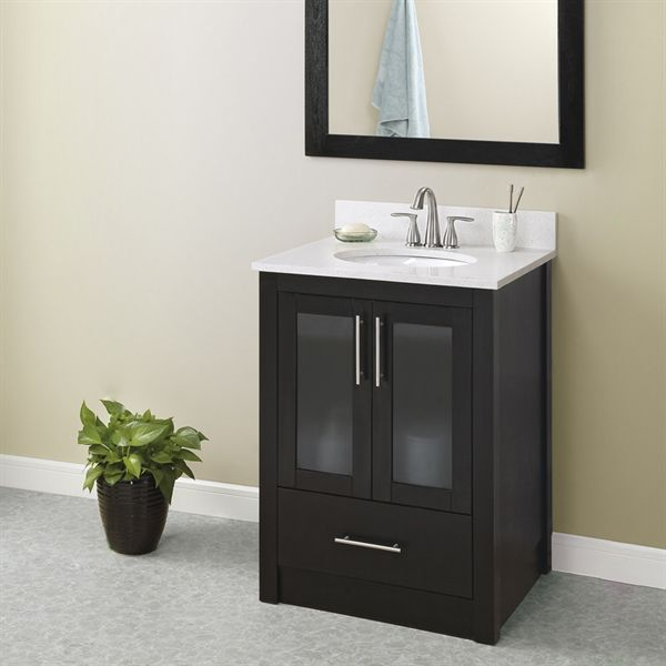 shop style selections 30 in x 21 in torylynn freestanding on lowes vanity id=77851