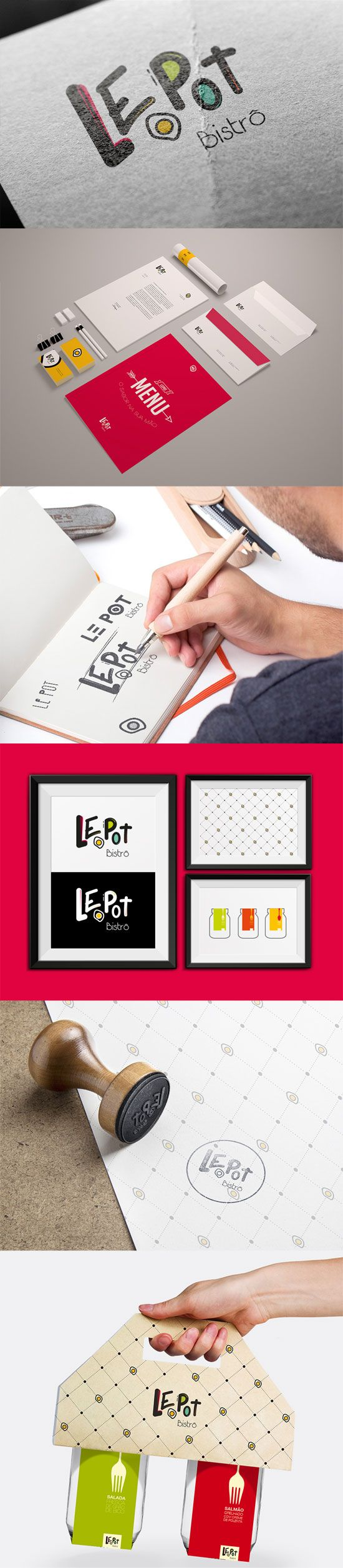 LePot Bistrô by Salada Comunicação e Design.