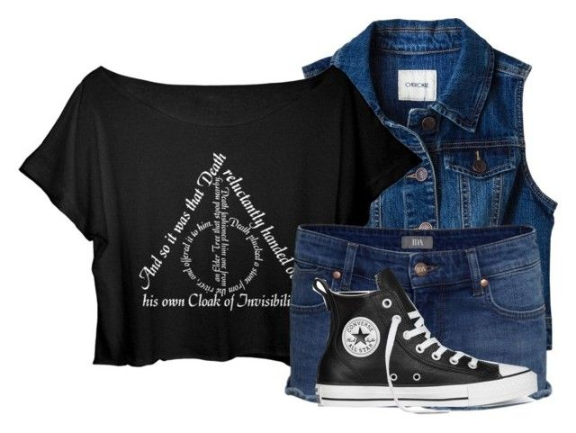 """""""Untitled #574"""" by xxsilentsilverxx ❤ liked on Polyvore featuring Converse"""