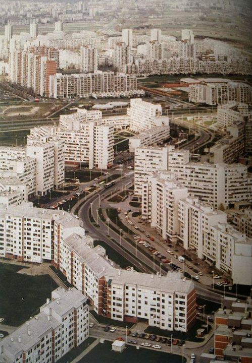 Zagreb Dugave Neighbourhood In The 80s Stalinist Architecture Landscape And Urbanism Art And Architecture