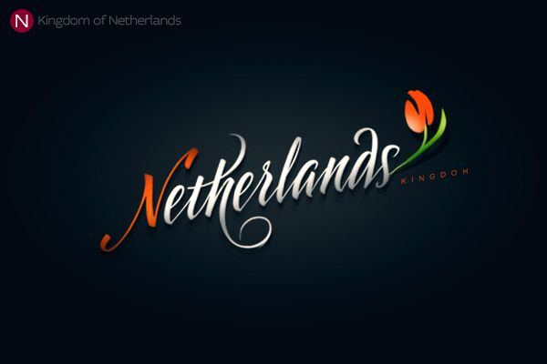 Netherlands logo n logos calligraphy letters and