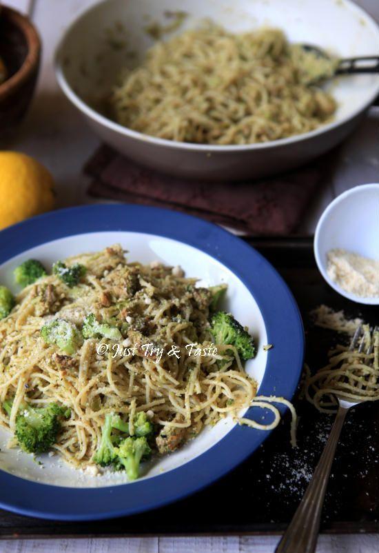 Resep Pasta Dengan Pesto Brokoli Jtt Resep Pasta Pesto Brokoli