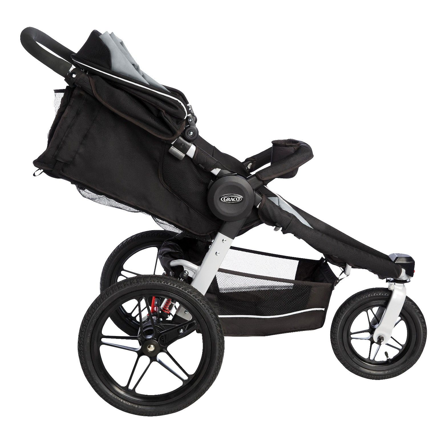 The Graco Relay Click Connect Jogging Stroller Travel