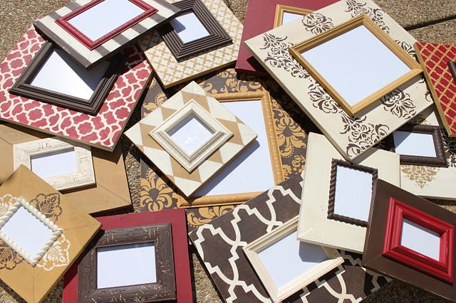 Delta Girl Distressed Frames Prices Range From 30 For A 3x3 Up To 100 For 11x14 Must Distressed Picture Frames Diy Picture Frames Distressed Frames