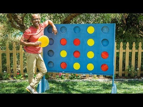 Ken Wingard Is In The Backyard Making A Perfect Diy Game For
