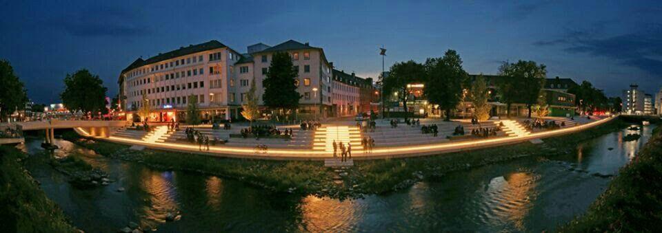 Siegen Siegufer Siegen, Altstadt, Stadt