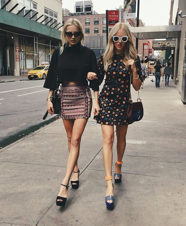 Chic on the streets