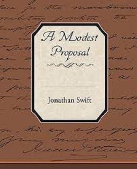 Review A Modest Proposal Modest Proposal Books Little Books