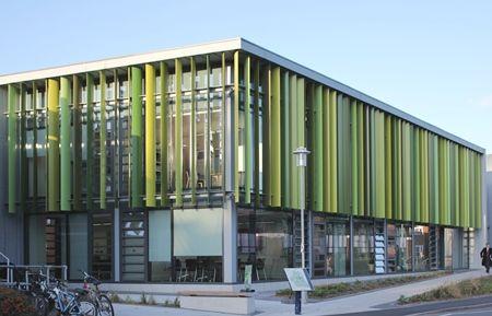 Levolux Solar Shading Solution For Royal Holloway