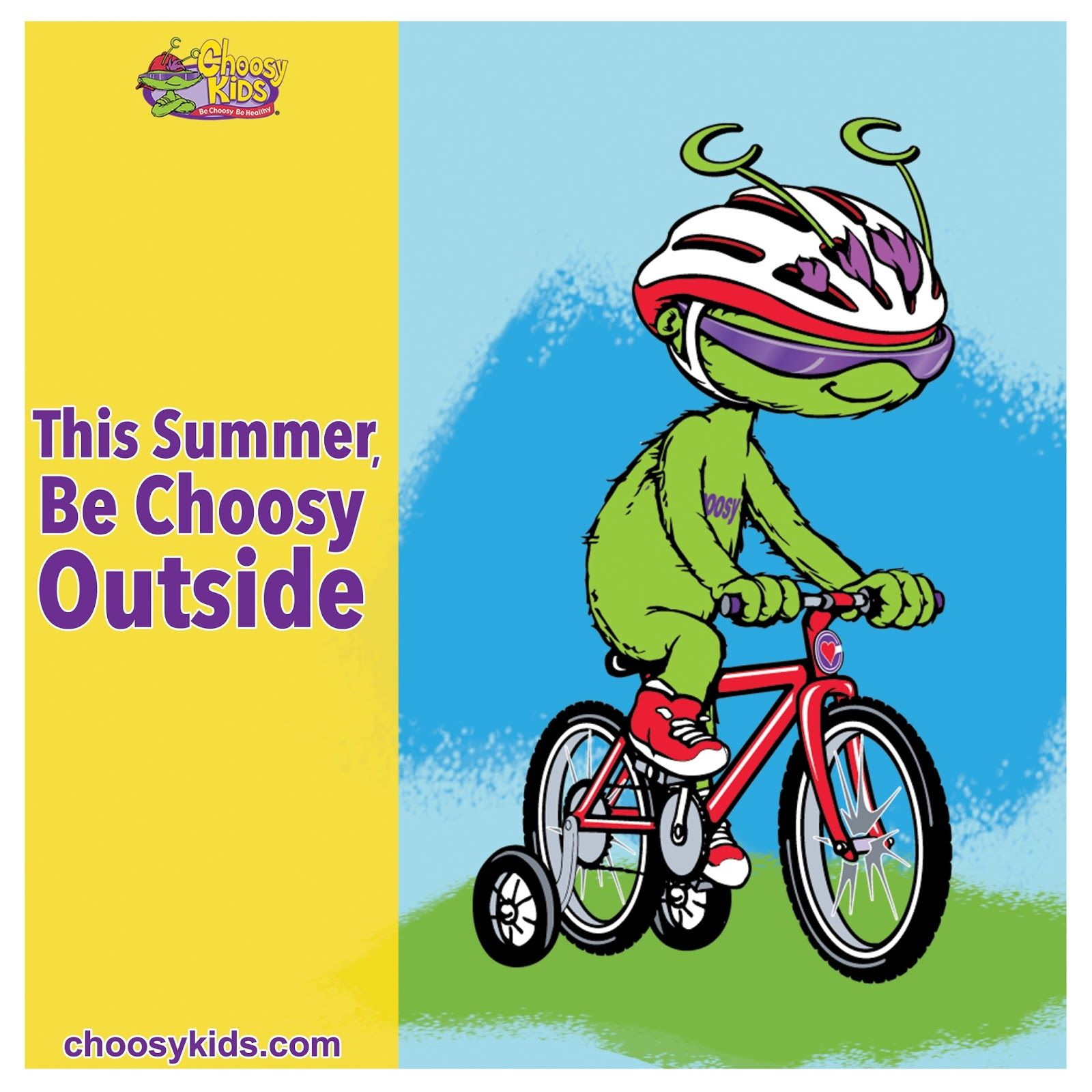 This Summer Be Choosy Outside
