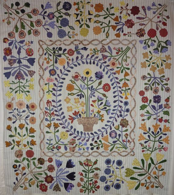 Dorothys threads of life: Its a Month Tomorrow | Quilt - Applique ...