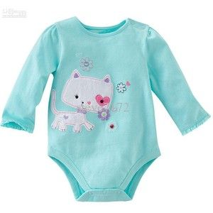 Cute Baby Rompers Onesies Cute Baby Bodysuit Jumper Top Pajamas Boys Shortall Tees Shirts Jumpsuits ZW516 Online with $4.17/Piece | DHgate