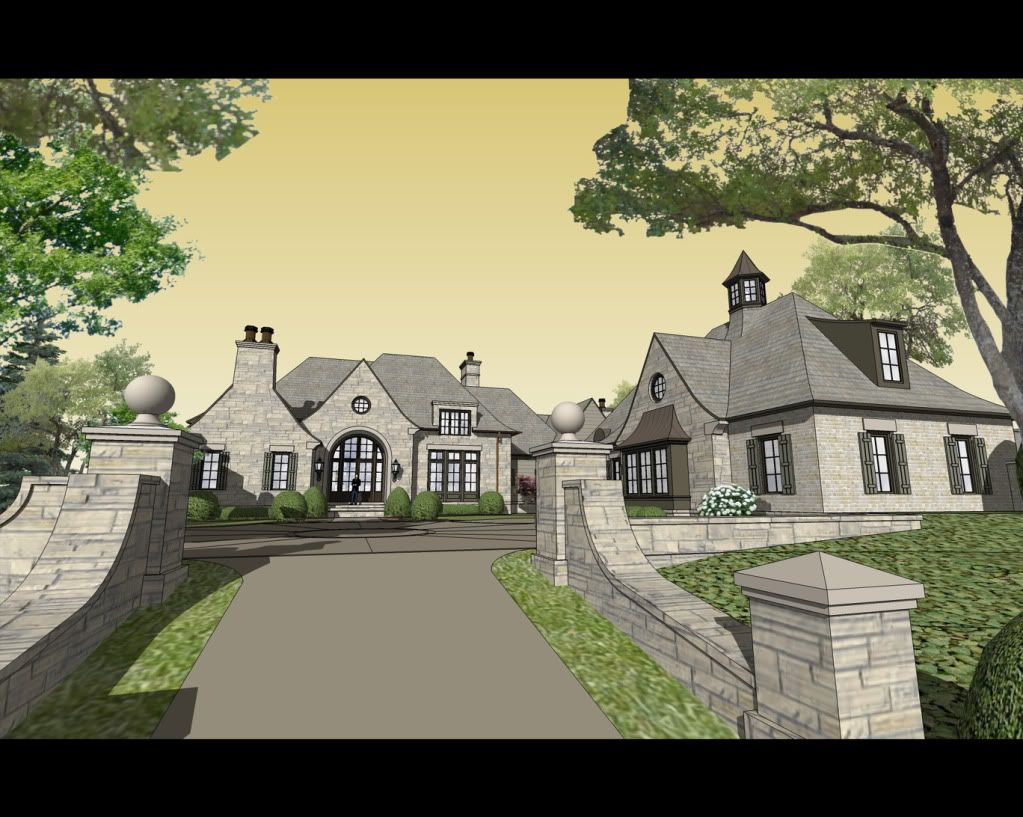 Stephen Fuller Design - French Mountain Home Drawings