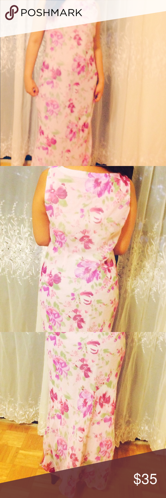 💞 Ronni Nicole Pink floral flare 👼🏻 Maxi | Pinterest