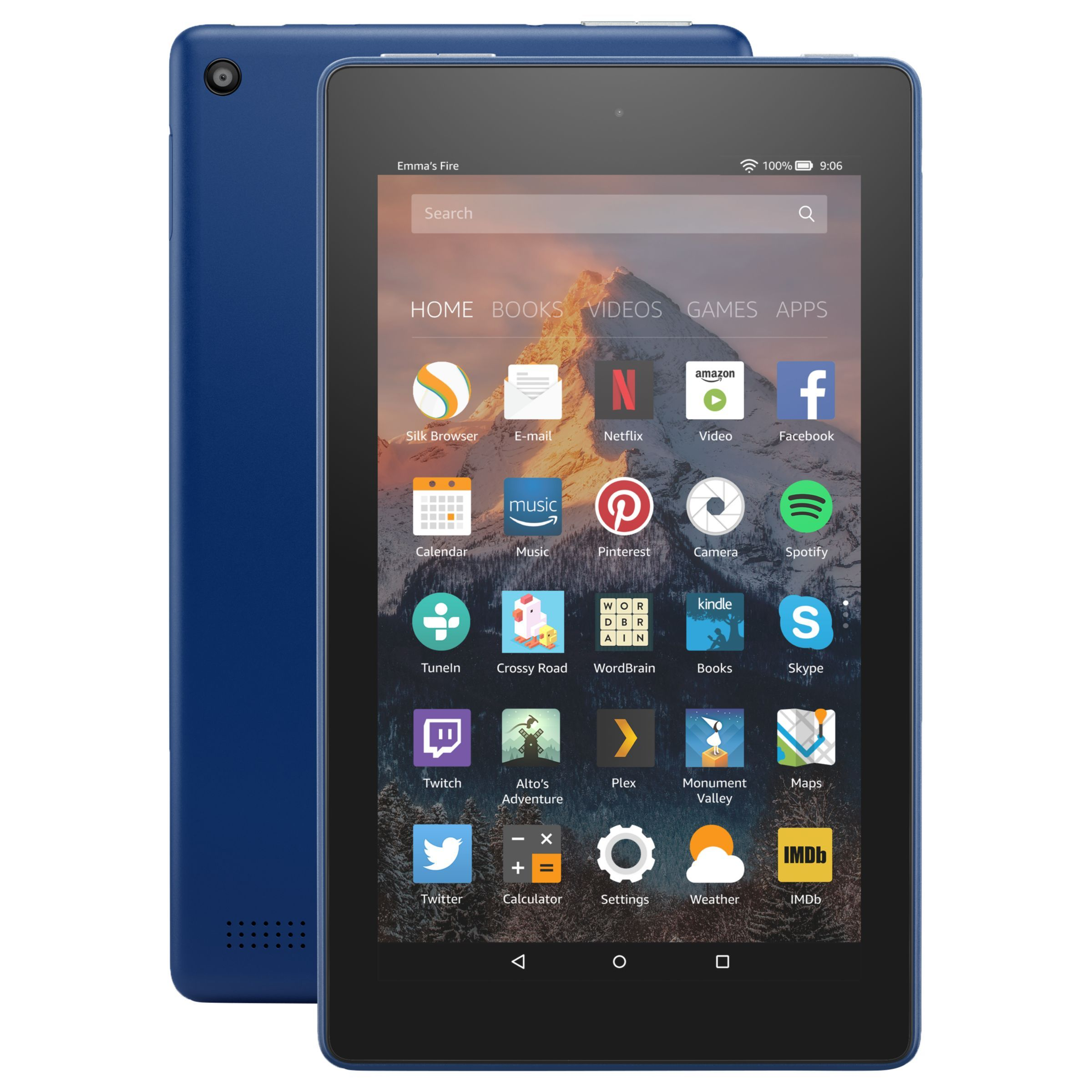 New Amazon Fire 7 Tablet With Alexa Quad Core Fire Os 7 Wi Fi