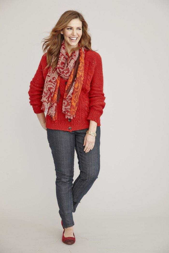 St John S Bay Cardigan Sweater Christmas Party Outfit