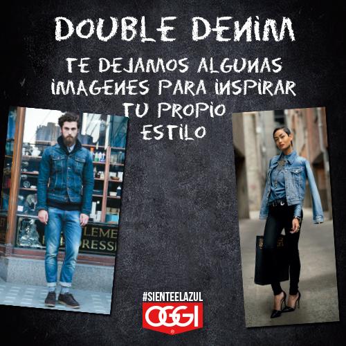 #HowToWear #DoubleDenim #OggiJeans #WeLoveDenim