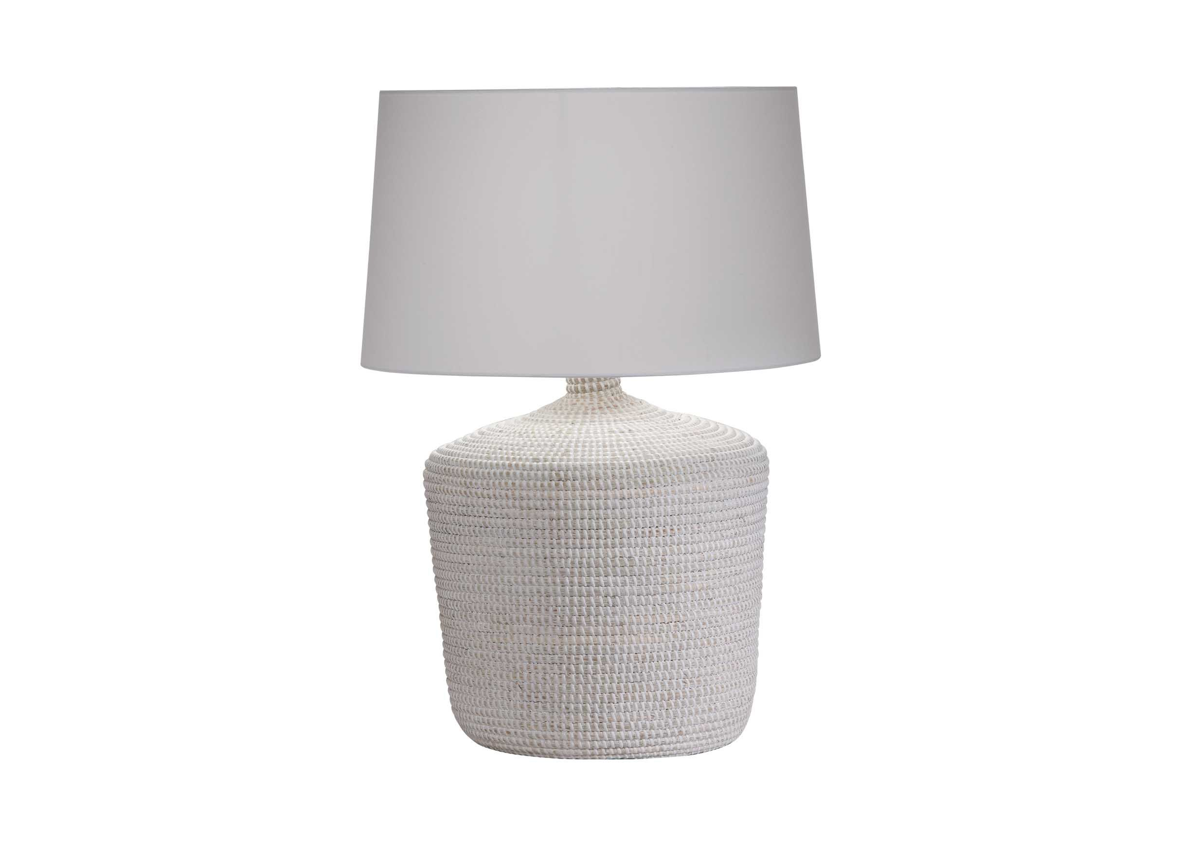 Seneca Woven Table Lamp TABLE LAMPS Ethan Allen Lamp