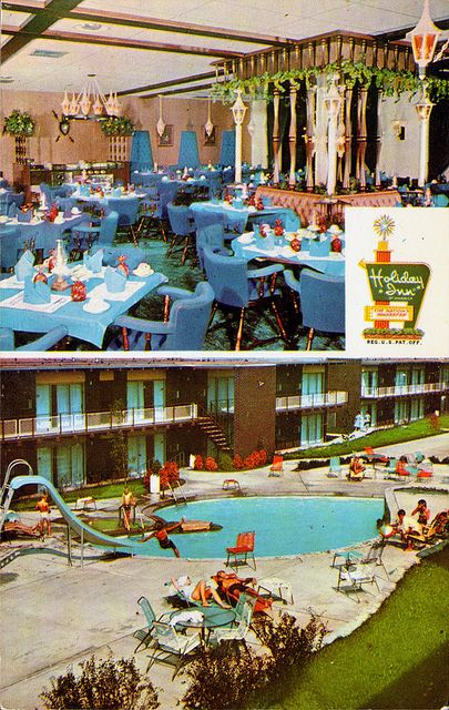 We Always Looked For A Holiday Inn On The Way To Florida For An Overnight Stay Holiday Inn Vintage Hotels Hotel Motel