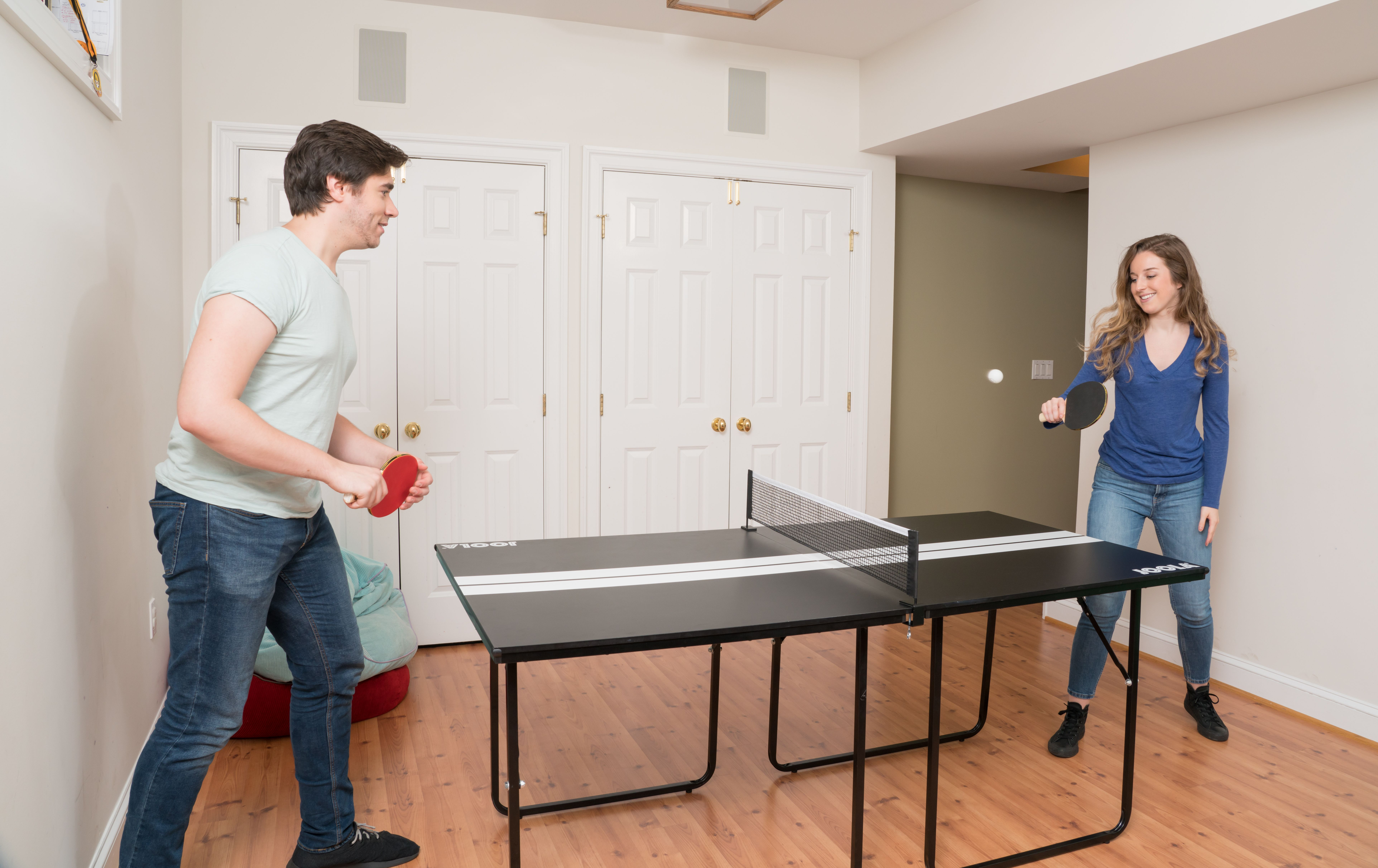 Midsize Sport Table Tennis Table In 2020 Table Height Table