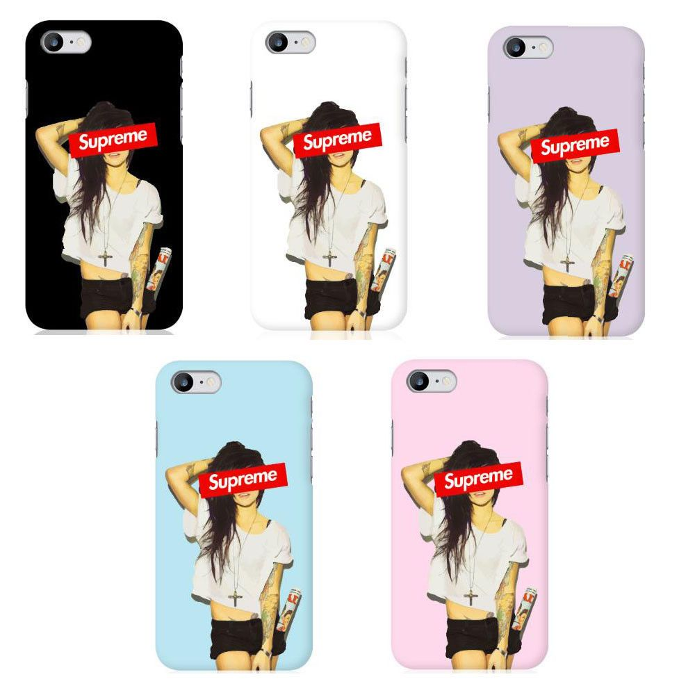 the best attitude ae047 50db3 Supreme Girl Hard Phone Case for iphone5,6,7,Samsung Galaxy S8, LG ...