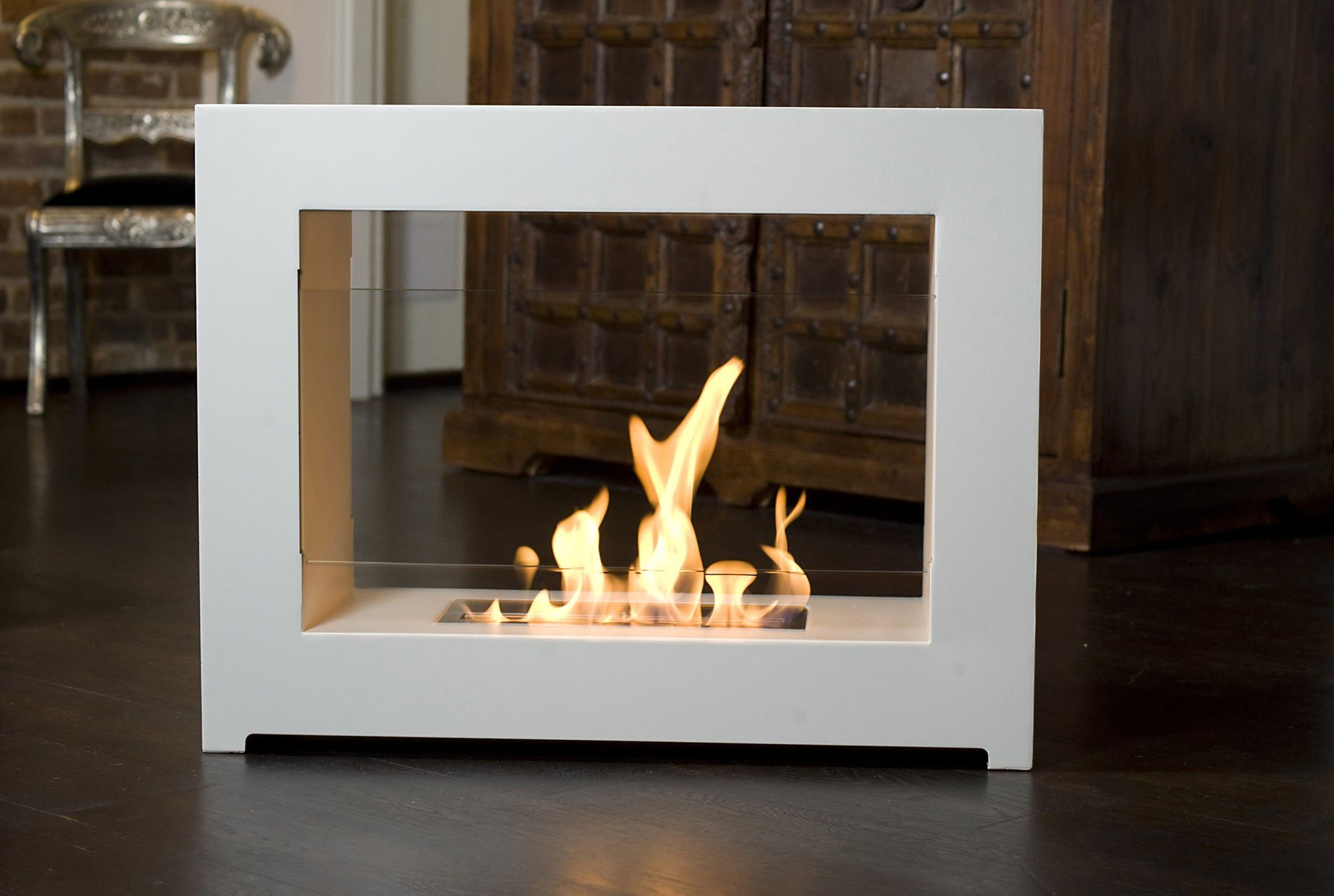 Indoor Portable Fireplace It S 800 But It S Awesome Maybe