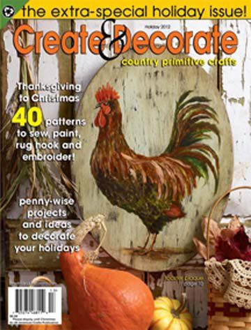 Create And Decorate Magazine Holiday 2012 Magazine Back Issues