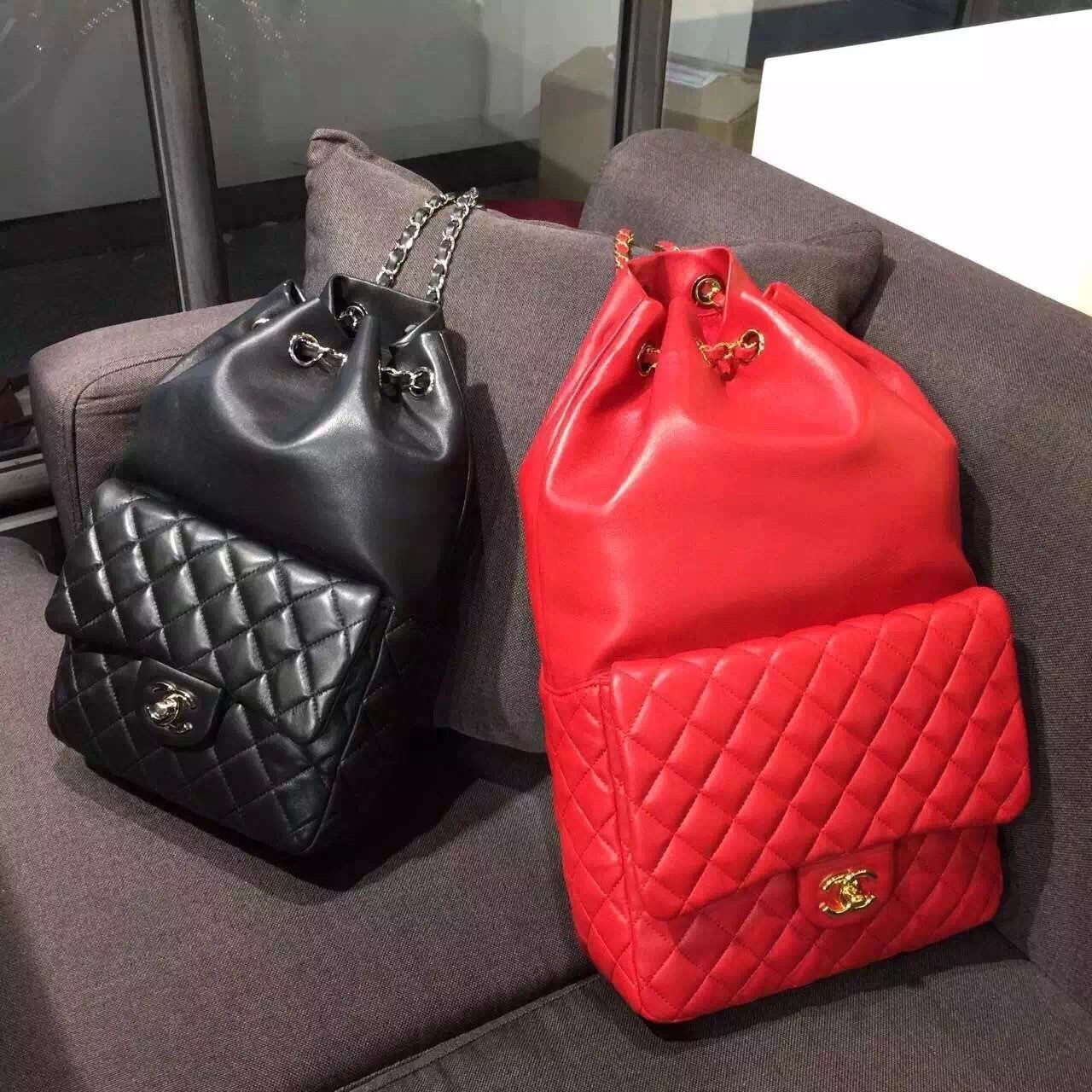 1af2fa357f84 Chanel Calfskin Backpack Cruise 2016 | Chanel in 2019 | Chanel, Coco ...