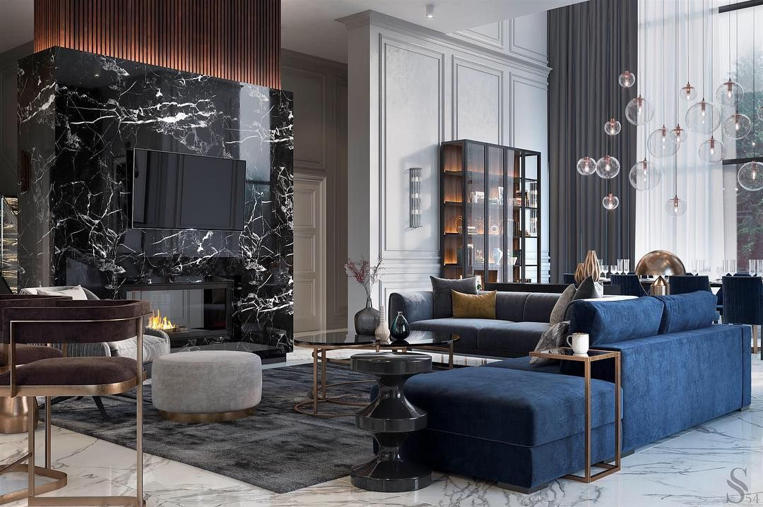 LUX interiors design and equipment from Studia 8. The cost of