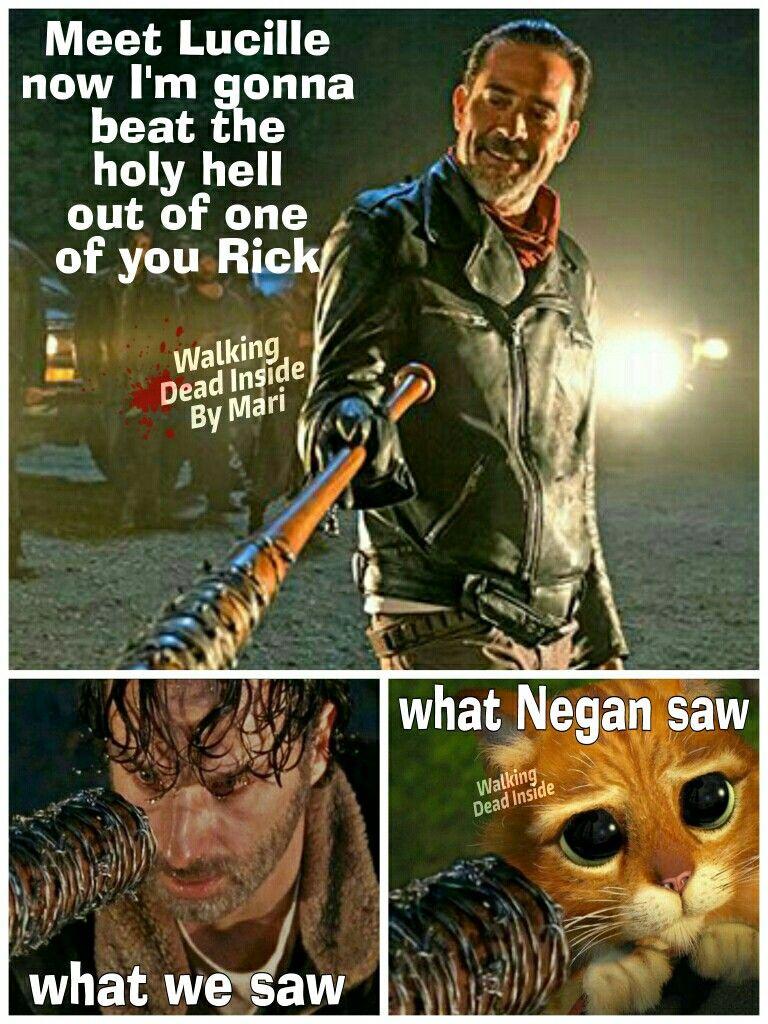 The Walking Dead Memes Negan Rick Grimes Walking Dead Funny