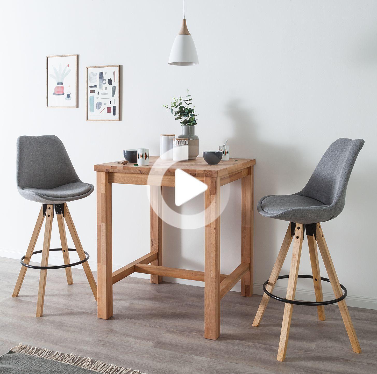 Barstuhl Aledas Ii 2er Set In 2020 Minimal Furniture Furniture Small Bathroom Decor