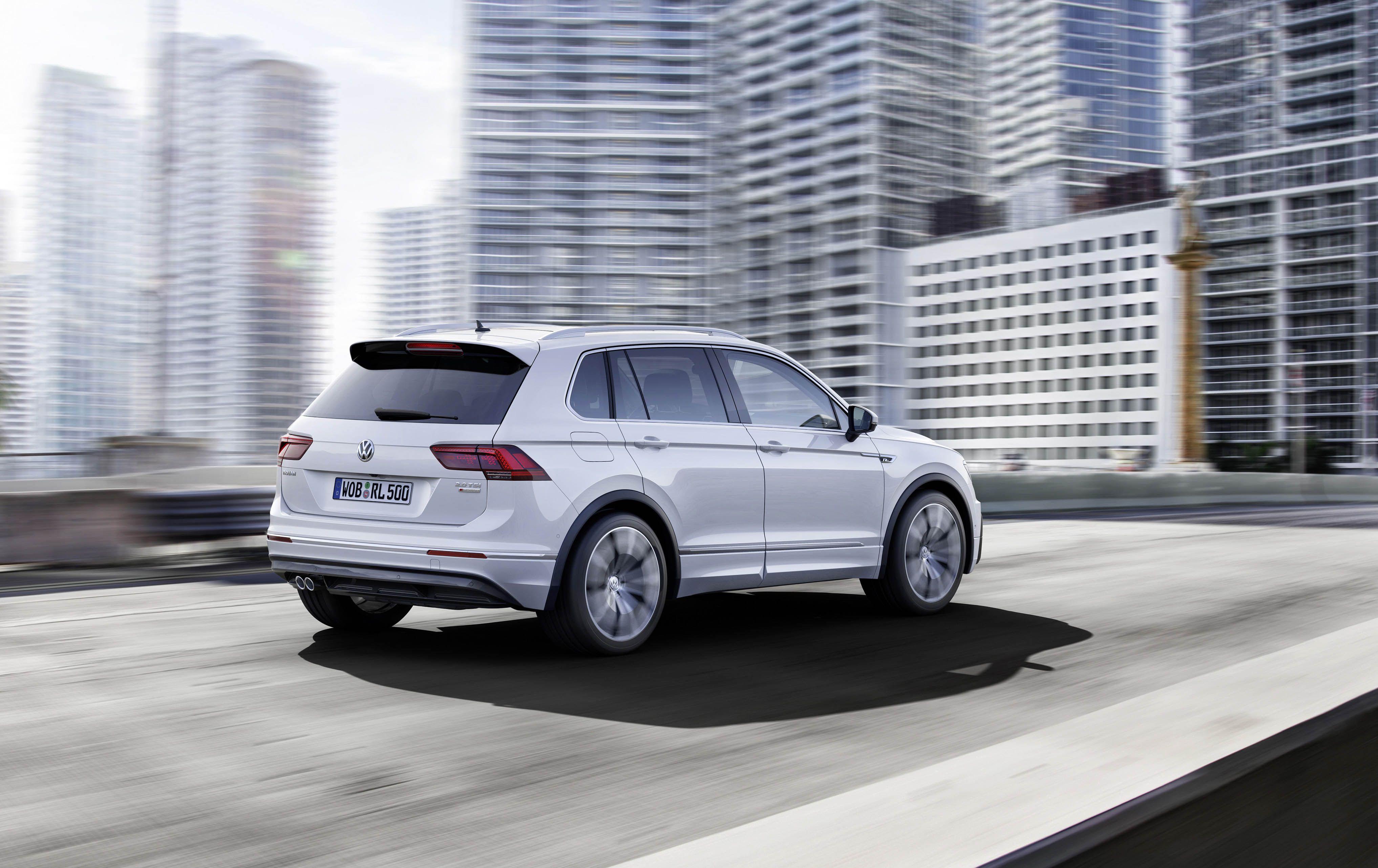 Eindelijk officieel op IAA: gloednieuwe Volkswagen Tiguan
